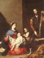 The Holy Family Tenebrism Jusepe de Ribera