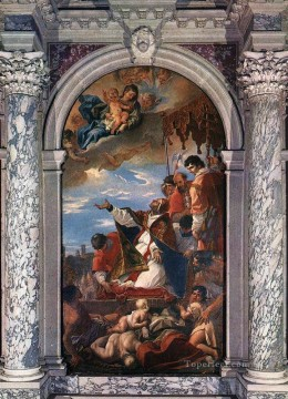 Sebastiano Ricci Painting - Altar Of St Gregory The Great grand manner Sebastiano Ricci