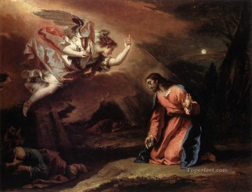Sebastiano Ricci Painting - Prayer In The Garden grand manner Sebastiano Ricci
