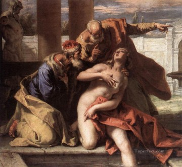 Sebastiano Ricci Painting - Susanna And The Elders grand manner Sebastiano Ricci