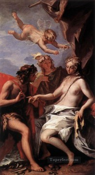 Sebastiano Ricci Painting - Bacchus And Ariadne grand manner Sebastiano Ricci