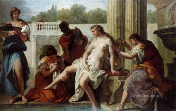 Bath Painting - Bathsheba Bathing grand manner Sebastiano Ricci
