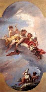 Doni Art - Venus And Adonis grand manner Sebastiano Ricci