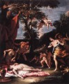 The Meeting Of Bacchus And Adriadne grand manner Sebastiano Ricci