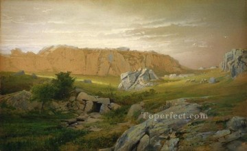 William Canvas - Paradise Newport scenery William Trost Richards