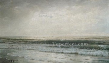 William Canvas - New Jersey Beach scenery William Trost Richards