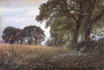 scenery Art Painting - Tennysons Farm Farmington Isle of Wight SMG scenery William Trost Richards