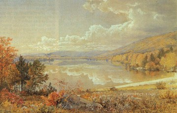 Nature Painting - Truth to Nature scenery William Trost Richards