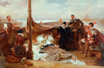 Robert Alexander Hillingford Painting - The Last Days of Sir Philip Sydney Robert Alexander Hillingford historical battle scenes
