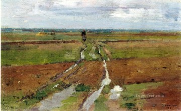 Barbizon Theodore Robinson Oil Paintings