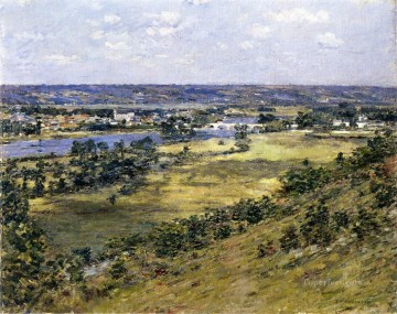 Theodore Robinson Painting - Valley of the Seine Theodore Robinson
