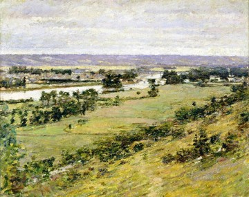Theodore Robinson Painting - Valley of the Seine2 Theodore Robinson
