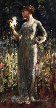 Theodore Robinson Painting - A Kings Daughter Theodore Robinson