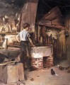 The Forge aka An Apprentice Blacksmith Theodore Robinson