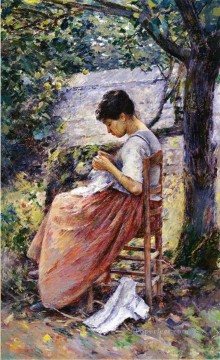 Theodore Robinson Painting - The Layette Theodore Robinson