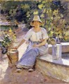 Watering Pots Theodore Robinson