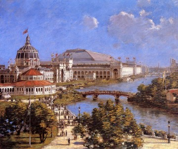 Theodore Robinson Painting - Worlds Columbian Exposition Theodore Robinson
