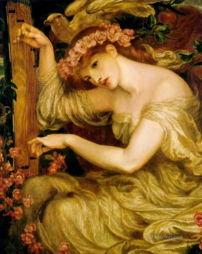 A Sea Spell Pre Raphaelite Brotherhood Dante Gabriel Rossetti Oil Paintings