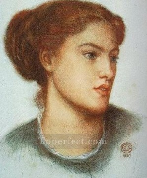 Ellen Smith Pre Raphaelite Brotherhood Dante Gabriel Rossetti Oil Paintings