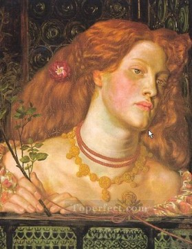 Fair Rosamund Pre Raphaelite Brotherhood Dante Gabriel Rossetti Oil Paintings