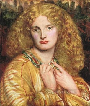 Helen of Troy Pre Raphaelite Brotherhood Dante Gabriel Rossetti Oil Paintings