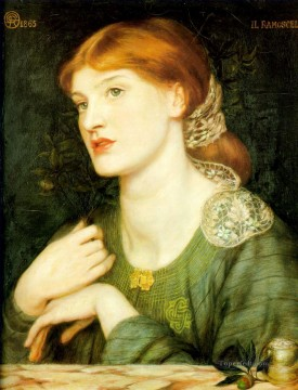 Il Ramoscello Pre Raphaelite Brotherhood Dante Gabriel Rossetti Oil Paintings