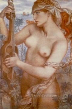 Ligeia Siren Pre Raphaelite Brotherhood Dante Gabriel Rossetti Oil Paintings