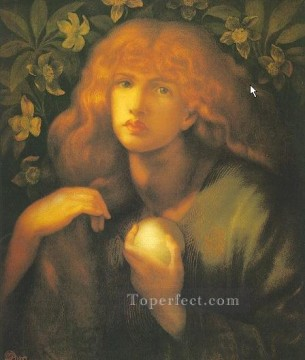 Mary Magdalen Pre Raphaelite Brotherhood Dante Gabriel Rossetti Oil Paintings