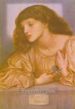 May Morris Pre Raphaelite Brotherhood Dante Gabriel Rossetti Oil Paintings