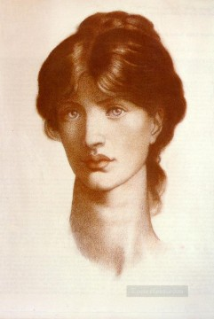 Study For A Vision Of Fiammetta Pre Raphaelite Brotherhood Dante Gabriel Rossetti Oil Paintings