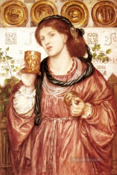The Loving Cup Pre Raphaelite Brotherhood Dante Gabriel Rossetti Oil Paintings