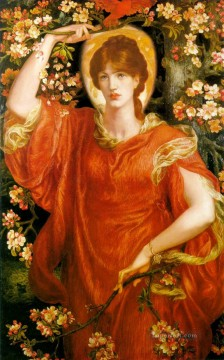 A Vision of Fiammetta Pre Raphaelite Brotherhood Dante Gabriel Rossetti Oil Paintings