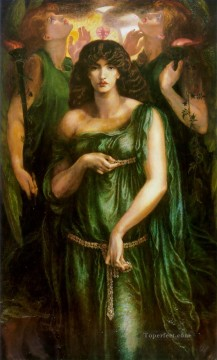Astarte Syriaca Pre Raphaelite Brotherhood Dante Gabriel Rossetti Oil Paintings