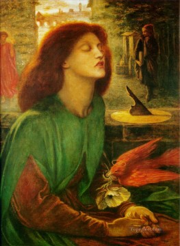 Beata Beatrix Pre Raphaelite Brotherhood Dante Gabriel Rossetti Oil Paintings