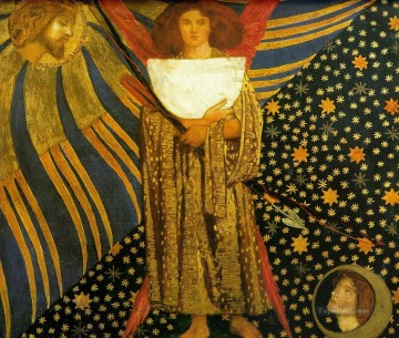 Dantis Amore Pre Raphaelite Brotherhood Dante Gabriel Rossetti Oil Paintings