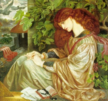 La Pia de Tolomei Pre Raphaelite Brotherhood Dante Gabriel Rossetti Oil Paintings