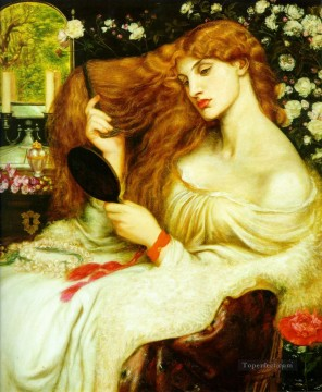 Lady Lillith Pre Raphaelite Brotherhood Dante Gabriel Rossetti Oil Paintings
