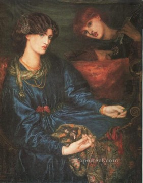 Mariana Pre Raphaelite Brotherhood Dante Gabriel Rossetti Oil Paintings