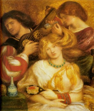 Dante Gabriel Rossetti Painting - Morning Music Pre Raphaelite Brotherhood Dante Gabriel Rossetti