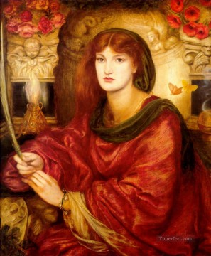Sybilla Palmifella Pre Raphaelite Brotherhood Dante Gabriel Rossetti Oil Paintings