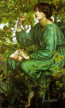 The Day Dream Pre Raphaelite Brotherhood Dante Gabriel Rossetti Oil Paintings