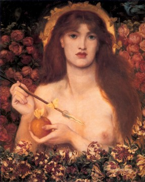 Venus Verticordia Pre Raphaelite Brotherhood Dante Gabriel Rossetti Oil Paintings