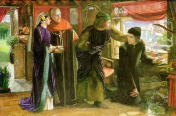 Beatrice Pre Raphaelite Brotherhood Dante Gabriel Rossetti Oil Paintings