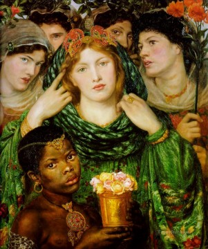 Love Painting - The Beloved Pre Raphaelite Brotherhood Dante Gabriel Rossetti