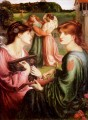 The Bower Meadow Pre Raphaelite Brotherhood Dante Gabriel Rossetti