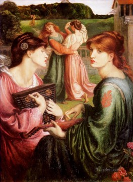 Meadow Art - The Bower Meadow Pre Raphaelite Brotherhood Dante Gabriel Rossetti