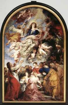 Assumption of the Virgin 1626 Baroque Peter Paul Rubens Oil Paintings