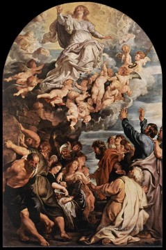Assumption of the Virgin Baroque Peter Paul Rubens Oil Paintings