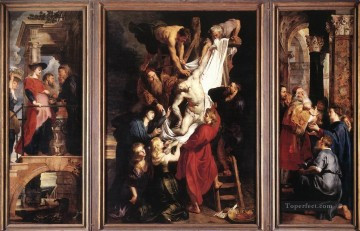 Descent from the Cross Baroque Peter Paul Rubens Oil Paintings