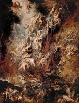 Fall of the Rebel Angels Baroque Peter Paul Rubens Oil Paintings